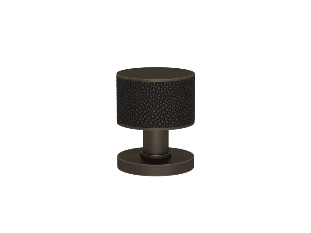 Stacked Shagreen Recess Amalfine In Black Bronze And Vintage Patina
