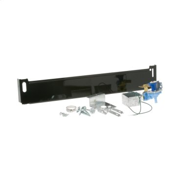 Conversion kit for converting a portable dishwasher to an under counter installation