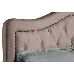 Trieste Cal King Bed Set - Dove Gray