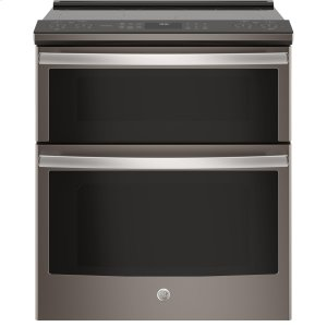 "GE ProfileGE PROFILEGE Profile™ Series 30"" Slide-In Electric Double Oven Convection Range"