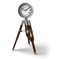 Tripod Table Clock Product Image