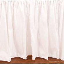 Serafina Crib Skirt White