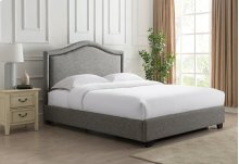 Grayling Platform Bed - King, Granite