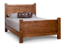 Rafters Queen Bed with 32'' High Footboard