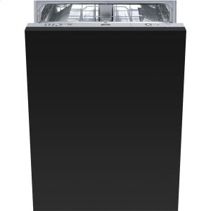 "Smeg60CM (approx. 24"") Fully integrated, Panel-Ready Dishwasher"