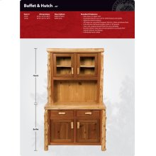 Buffet and Hutch - 48""