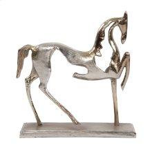 Aluminum Horse Sculpture