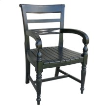Raffles Wooden Seat Arm Chair