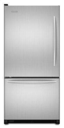 """Left-Hand Door Swing Standard-Depth 21.9 cu. ft. 32 5/8"""" Width Architect® Series II(Stainless Steel)"""