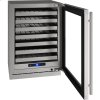 """U-Line 5 Class 24"""" Wine Captain(r) Model With Stainless Frame Finish And Field Reversible Door Swing (115 Volts / 60 Hz)"""
