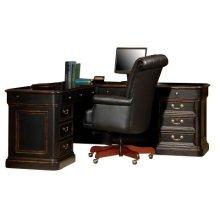 Louis Phillippe Executive L-Desk