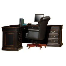 Louis Phillippe Executive L-Desk