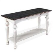 European Cottage Sofa Table Product Image