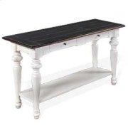 European Cottage Sofa Table Product Image