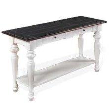 European Cottage Sofa Table