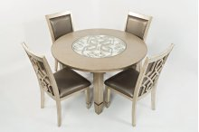 Casa Bella Round Dining Table With Four Chairs