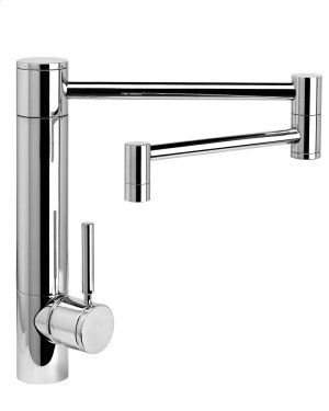 """Waterstone Hunley Kitchen Faucet w/ 18"""" Articulated Spout - 3600-18 Product Image"""