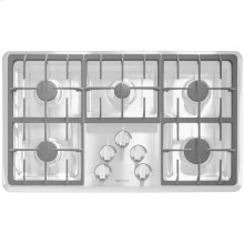 """Gas Cooktop, 36"""", Stainless Steel"""