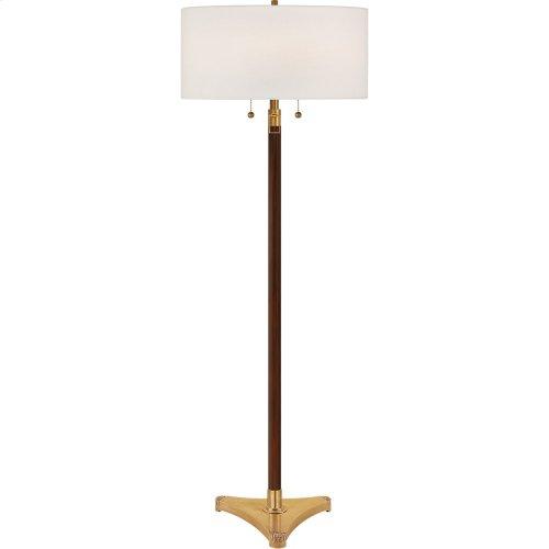 Visual Comfort SC1101HAB-L Eric Cohler Paris 58 inch 75 watt Hand-Rubbed Antique Brass Decorative Floor Lamp Portable Light