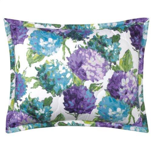 Hydrangea Quilt & Shams, BLUE, KING
