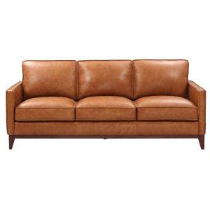 Leather Italia Usa 6394 Newport Sofa 177137 Camel