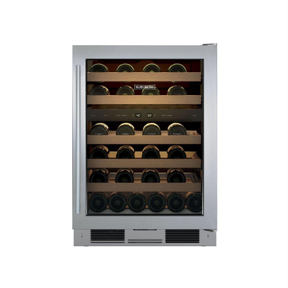24  Freestanding Wine Storage  sc 1 st  Spencers TV u0026 Appliance & UW24FSSTHRH in by Sub-Zero in Scottsdale AZ - 24