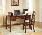"Oslo Writing Desk, Cherry 54""x28""x30"" Product Image"