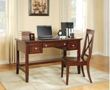 "Oslo Writing Desk, Cherry 54""x28""x30"""