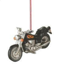 Motorcycle Ornament. Product Image