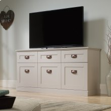 Farmhouse TV Stand and Entertainment Credenza