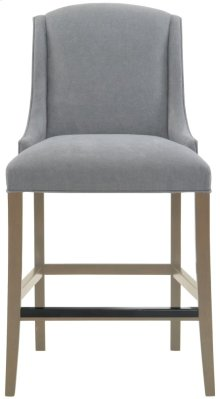 Slope Bar Stool in Smoke