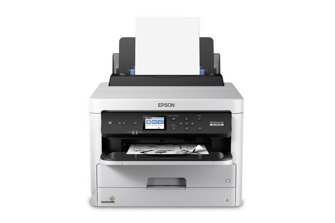 WorkForce Pro WF-M5299 Workgroup Monochrome Printer with Replaceable Ink Pack System