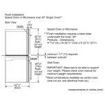 """Bosch 500 Series, 30"""", Microwave, Ss, Drop Down Door"""