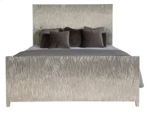 King-Sized Aragon Metal Wrapped Bed