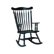 Colonial Rocker in Antique Black Product Image