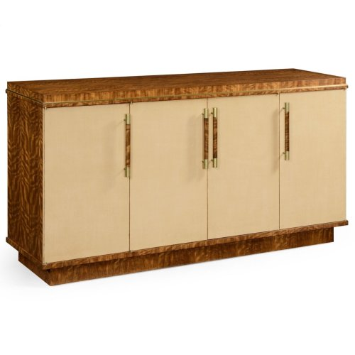 Hyedua and Ivory Sideboard with Four Doors