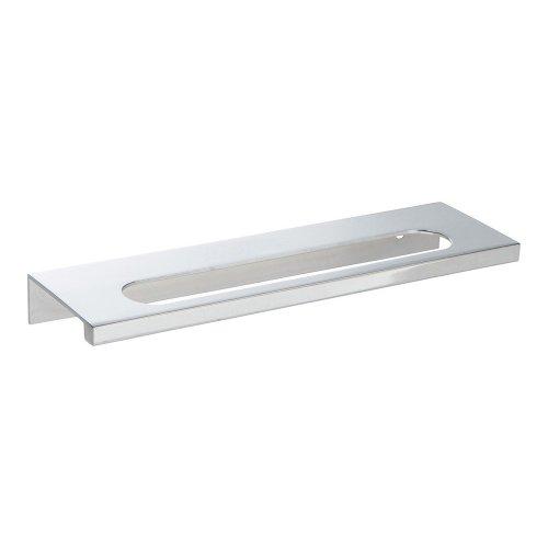 Modern Square Edge Tab Pull 5 1/16 Inch (c-c) - Polished Chrome
