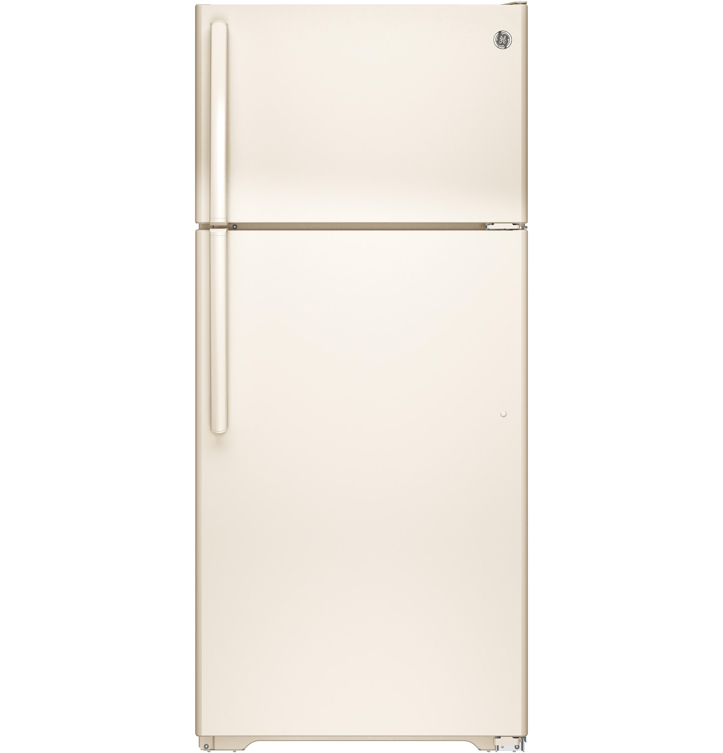 Gte16dthcc Ge Ge 174 Energy Star 174 15 5 Cu Ft Top Freezer