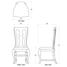 Kings Chair w/ Cushion Seat