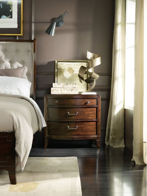 Palisade Three Drawer Nightstand