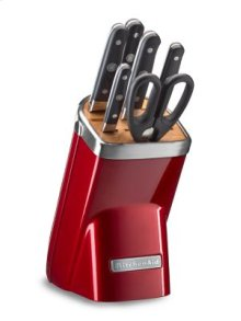 7pc Professional Series Cutlery Set - Candy Apple Red