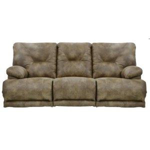 """""""Lay Flat"""" Recl Sofa w/3x DDT - Brandy"""