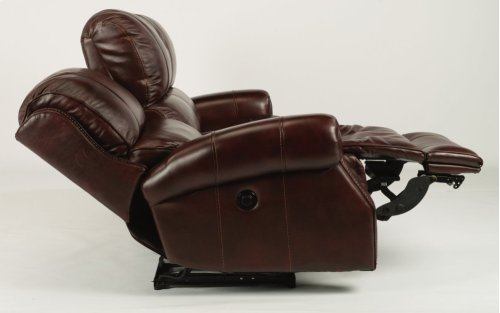 Miles Leather Power Reclining Sofa