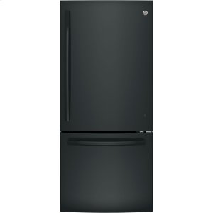 ®ENERGY STAR® 21.0 Cu. Ft. Bottom-Freezer Refrigerator - BLACK