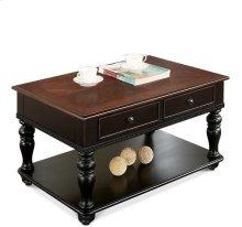 Coffee Table Prestige Black/Ridgway Cherry finish