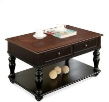 Coffee Table Prestige Black/Ridgway Cherry finish