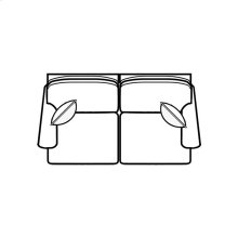 Stationary Loveseat 400 Series Stationary Selectionals