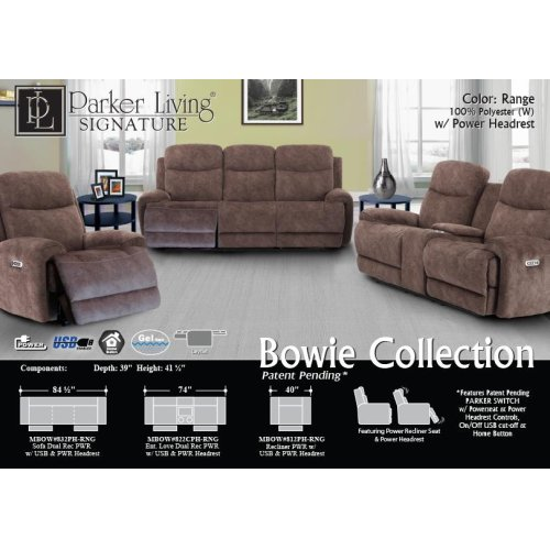 Bowie Range Power Sofa