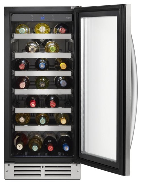 15-inch Wide Undercounter Wine Center with 34-Bottle Wine Storage
