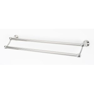 Royale Double Towel Bar A6625-24 - Polished Nickel